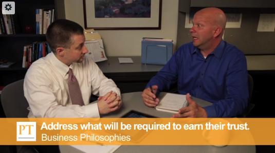 Sales Training: Business Philosophies
