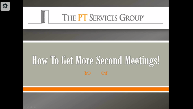Sales Training: How to Get More Second Meetings