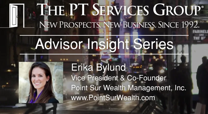Advisor Insight: Erika Bylund